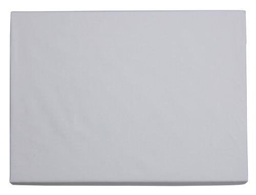 Sheridan S2UQGE003 Essentials Classic Perkal, Spannbetttuch für King Size Bett, Fadenzahl 300, 152 x 203 x 32 cm, Schnee