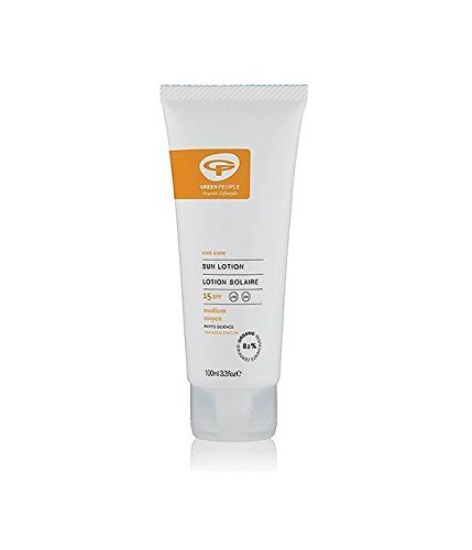 - Green/Ppl Spf15 Sun Lotion With Tan Accelerator | 100ml | -... by The Green People Co Ltd -