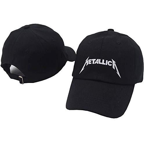 WEY Caps Für Männer Frau, Metallica Stickerei Baseball Cap Sport Sonnenhut, Einstellbare Freizeit Sport Hut,Bild,Einheitsgröße