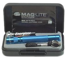 Maglite Mini Mag AAA Solitaire Torch Boxed Blue - Torch-deck