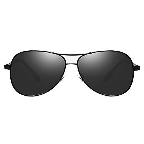 Hethrone Retro Polarized Driving Sonnenbrille Rechteckige Sportbrille UV400 Schutzbrille für Männer CB-9