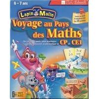 Lapin malin CD ROM voyage au pays des maths CP CE1 PC