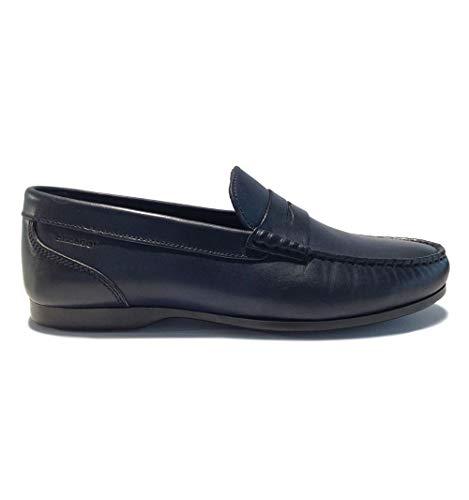Sebago Byron, Mocasines para Hombre, Azul Blue Navy 908, 43 EU
