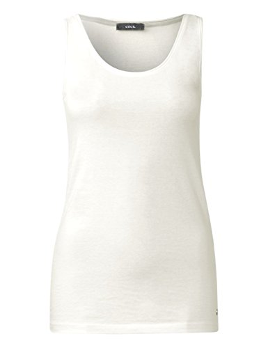 Cecil Damen Top Weiß (Pure Off White 10125)