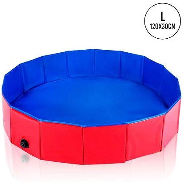 Foldable Dog Paddling Pool Medium 120x30cm Sturdy High Quality