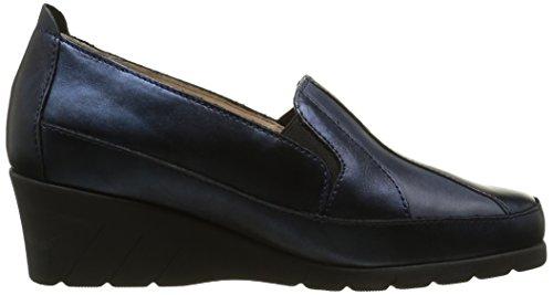 Luxat - Onamy2, Mocassini Donna Blu (Bleu (Marine Métal))