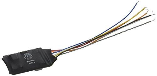 Bachmann Züge E-Z Command Digital Command Control Decoder mit Kabelbaum (Programmierung auf die Main, Lichter, dimmbar) 3/Karte -
