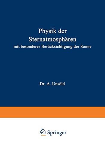 Physik der Sternatmosphären