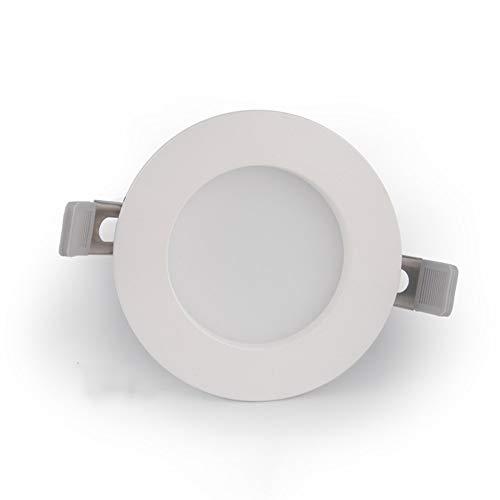 Wlnnes CRI 97 Baño anti-vaho empotrable LED COB Salón Dormitorio pasillo de...