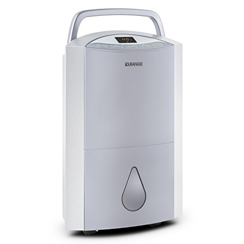 Duramaxx DryBest - Deshumidificador portátil 20 l/día (330W, purificador de aire integrado,...