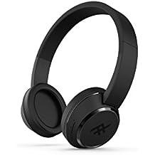 Zagg coda wireless Diadema Binaurale Wired/Bluetooth Negro - Auriculares (Binaurale, Diadema, Negro, Digital, Wired/Bluetooth, Track <,Track >,Volume +,Volume -)