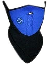 Máscara Facial Térmica para Calentar el Cuello para Ciclismo/Motociclismo/Esquí - A Prueba de Viento - Neopreno, Azul