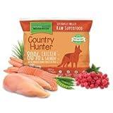 Country Hunter Raw Salmone E Pollo kg. 1 Cibo Biologico per Cani