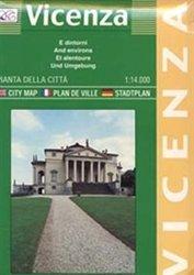 Vicenza. Pianta della città 1:14.000: With Surrounding Communes and Places of Public Interest (Carte stradali) por Litografia Artistica Cartografica (LAC)