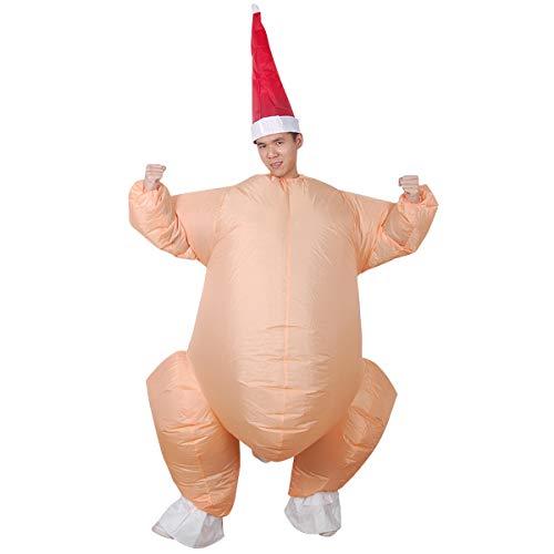 Yodensity Türkei Aufblasbare Kleidung Puppe Lustige Kostüm für Erwachsene Party Thanksgiving Halloween Karneval