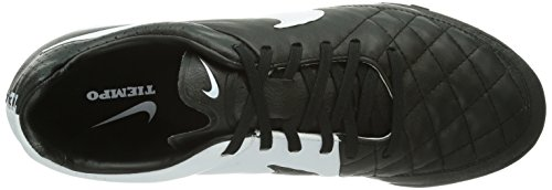 Nike Tiempo Legacy Tf 631517 Herren Fußballschuhe Training Schwarz (Black/White-Black)