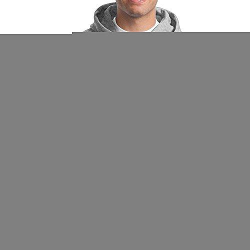 DETO Michigan Wolverines - Felpa con Cappuccio da Uomo, Colore: Cenere
