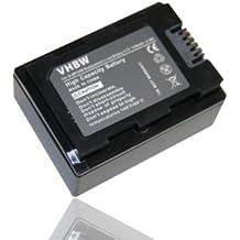 Batteria LI-ION per SAMSUNG SMX-F50, HMX-F50BN, HMX-F90, SMX-F50BP, SMX-F54, HMX-H305, HMX-H304, HMX-H300, HMX-H300BN ecc. sostituisce IA-BP105R