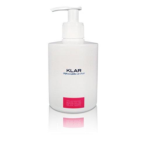 Klar's exclusive savon liquide Pivoine & Basilic, 300ml
