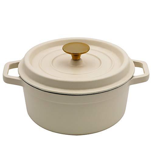 Emaillierter Dutch Oven matt 0,9 l - Emaillierte Kochgeschirr Keramik