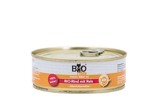 BioMiau Bio Rind mit Reis 200 g