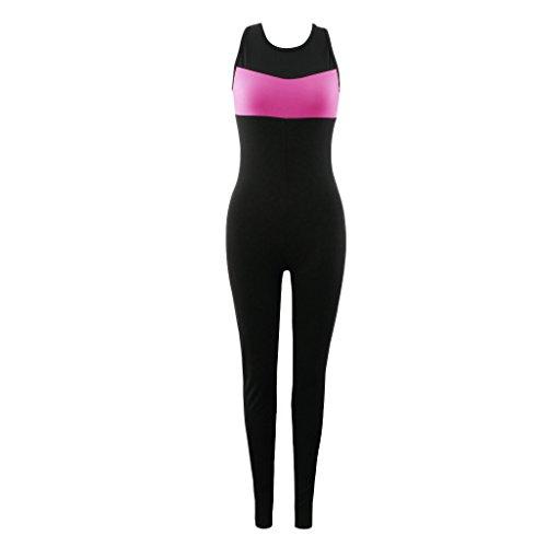Baoblaze Mujeres Deportes Yoga Jumpsuit Running Fitness