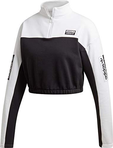 Sweatshirt Femme Adidas Crop