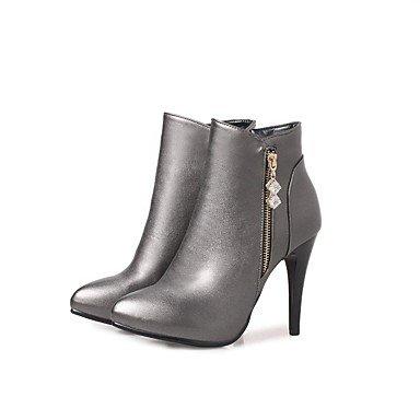 Heart&M Da donna Stivaletti Footing Comoda Innovativo Alla schiava Decolleté Stivali Stivaletti alla caviglia Suole leggere Scarpe formaliDi gray