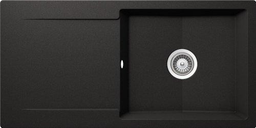 Schock Küchenspüle Epure D-100L, Auflage in Nero