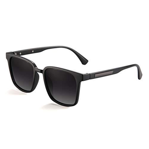 YLZERO Polarisierte Gradient Herren Sonnenbrille Driving Herren Square Sonnenbrille Travel Lampenschirm