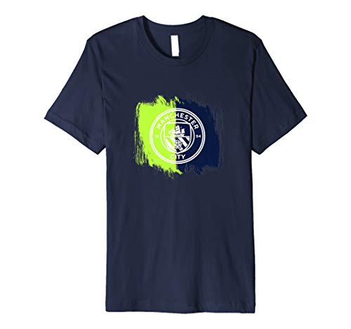 Manchester City - Brush effect away colours tee