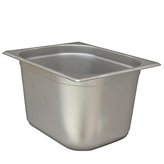 GN Behälter 1/2 Edelstahl von ALLPAX, Höhe 200 mm, 325 x 265 mm