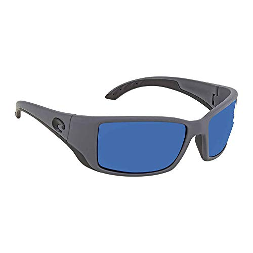 Costa Blackfin Plastic Frame Blue Mirror Lens Men's Sunglasses BL98OBMP