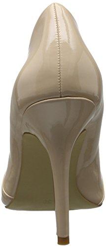 BIANCO Basic Loafer Pump Djf16, Scarpe col tacco Donna Avorio (Natural)