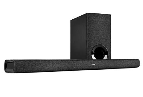 Oferta de Denon Barra de Sonido DHT-S416 2.1 TV con subwoofer inalámbrico, Google Chromecast Integrado, WiFi, Bluetooth, Dolby Digital, HDMI ARC, Entrada óptica