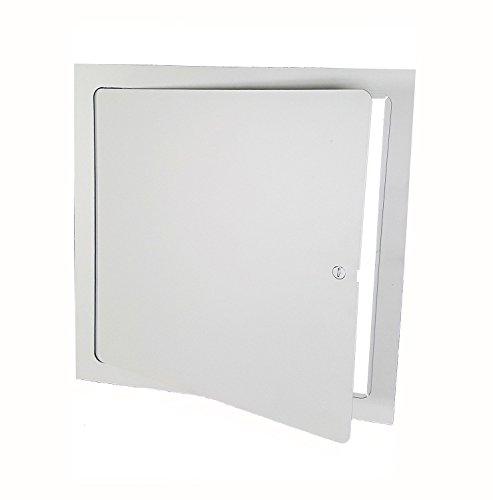 Flush Stahl Tür (Premier fl-10X 10Flush Zugang Tür, Stahl, Pulver, Weiß)