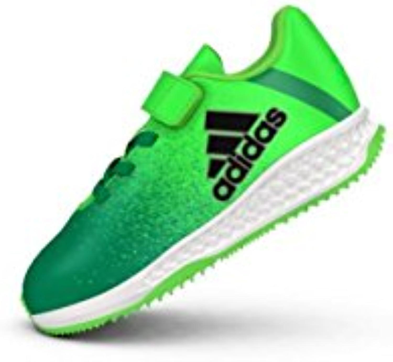 adidas rapidaturf x i & agrave; & f & agrave; uacute; tbolpara chaussures enfants, Vert  & agrave; (versol / negbas / v erbas), 24 b10d9e