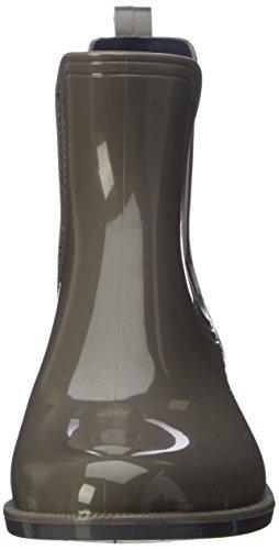 Tommy Hilfiger O1285dette 11r, Bottes de Pluie Femme Gris (Urban Grey)