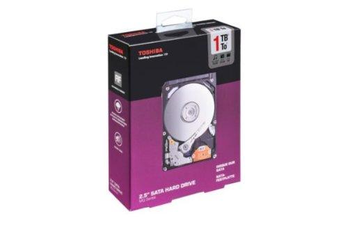 Preisvergleich Produktbild Toshiba MQ01ABD100-RK interne Festplatte 1TB (6, 4 cm (2, 5 Zoll),  5400rpm,  8MB Cache,  SATA)
