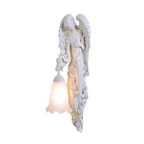 Kreative Harz Skulptur Venus Wohnzimmer Halterung Licht Antike Griechische Liebe Gott Gang Treppenhaus Balkon Villa Wandleuchte (Venus Griechische Gott)