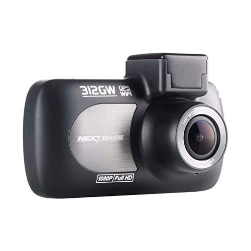 Nextbase 312GW - Full HD 1080p Dashcam Auto-Kamera mit GPS, DVR, WiFi & erweiterter Nachtsicht - Frontkamera - 140 ° Weitwinkel - Schwarz