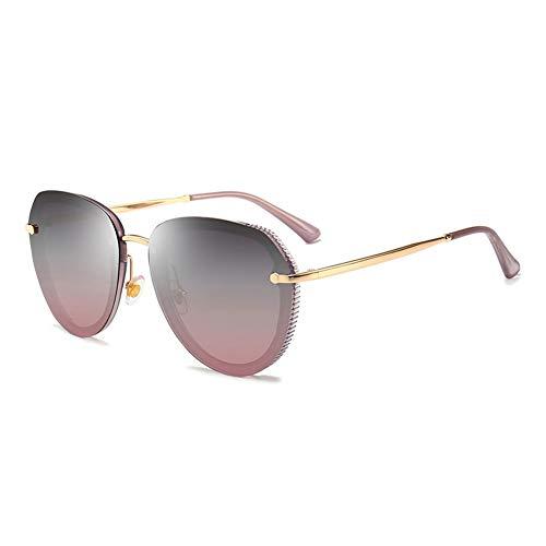 Polarisierte Sonnenbrille Weibliches Gesicht Helle Anti-uv Treibende Brille, Kann Der Blendung Widerstehen, Um Die Wahre Farbe Wiederherzustellen, Kann Für Dekorative Tourismus Verwendet Werden.