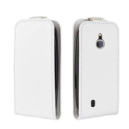 Nokia 3310 3G 4G Custodia Cover Case ,Custodia Flip in pelle PU Folio Cover con supporto magnetico Porta carta di credito Slot Custodia da tasca Notebook, Cover protettiva Anti-shock antiurto -bianca