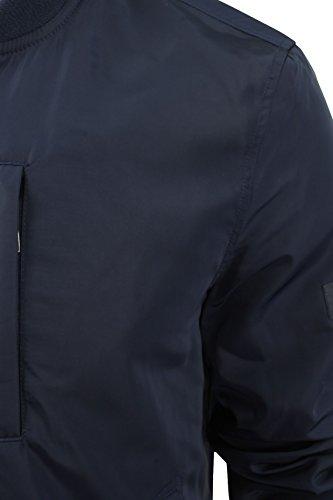 Ben Sherman - Blouson type Bomber Homme zippé Marine Blazer