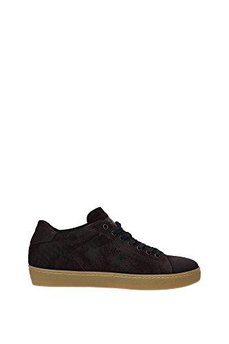 Leather Crown Sneakers Uomo - (M136COFFEEAMBRA) 46 EU