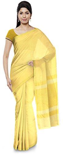Guruvayoorappan Women\'s Art Silk Saree (Beige)