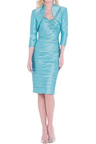 Victory Bridal - Robe - Crayon - Femme Bleu - Bleu