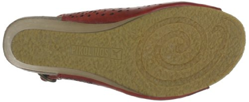 Pikolinos 868-9345_V13, Sandales femme Rouge (Sandia)