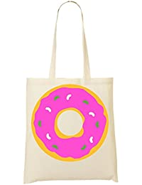 Round Doughnut Graphic Bolso De Mano Bolsa De La Compra