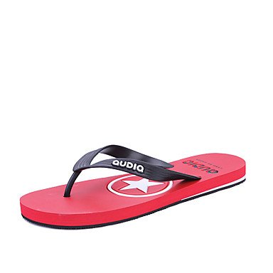 2017 Flip-Flopss Uomini piatto Mens pantofole scarpe estive casuali della spiaggia degli uomini di modo Sandali Flip sandali US8 / EU40 / UK7 / CN41